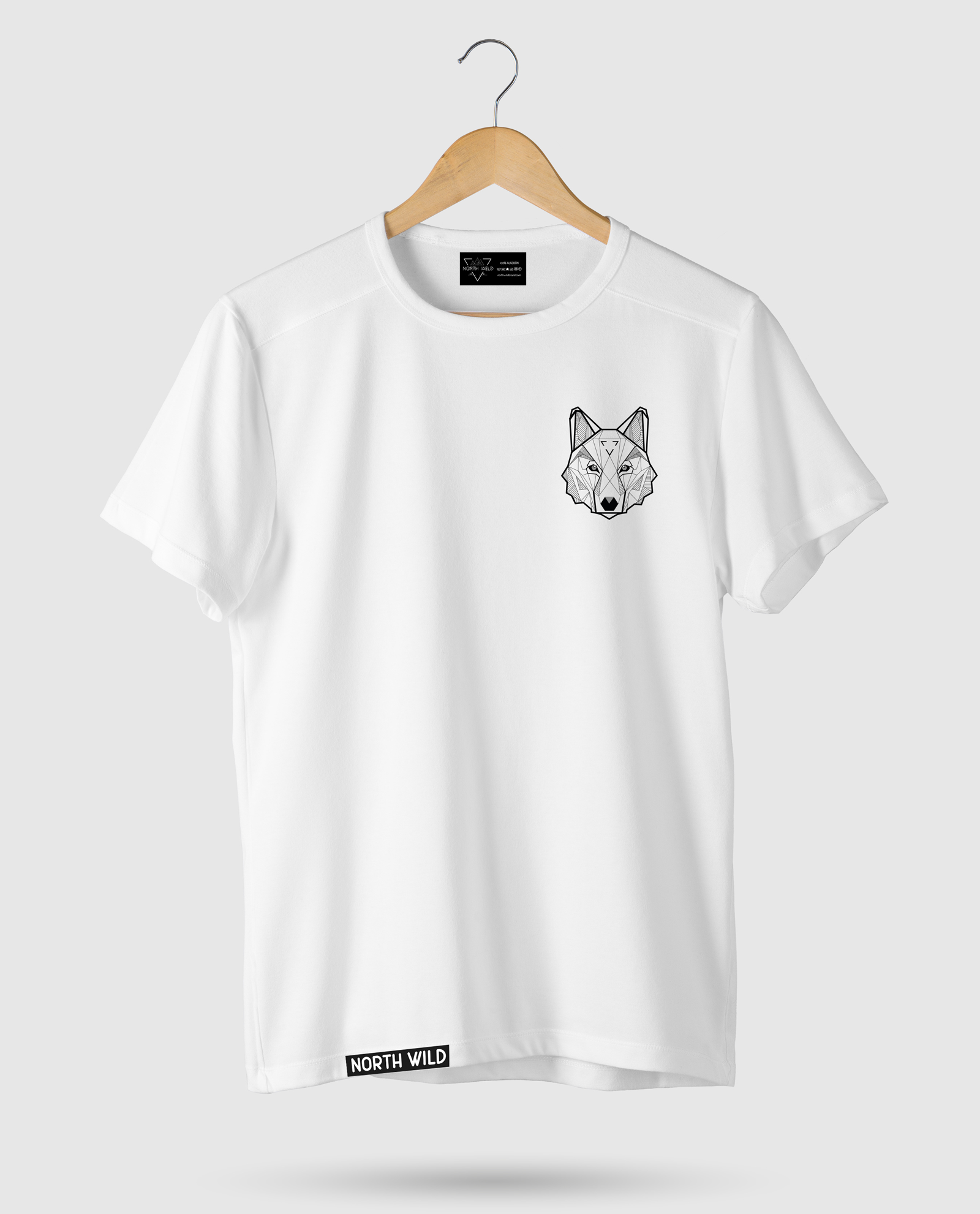 2af6422082683 Camiseta Animal Wolf - North Wild Brand